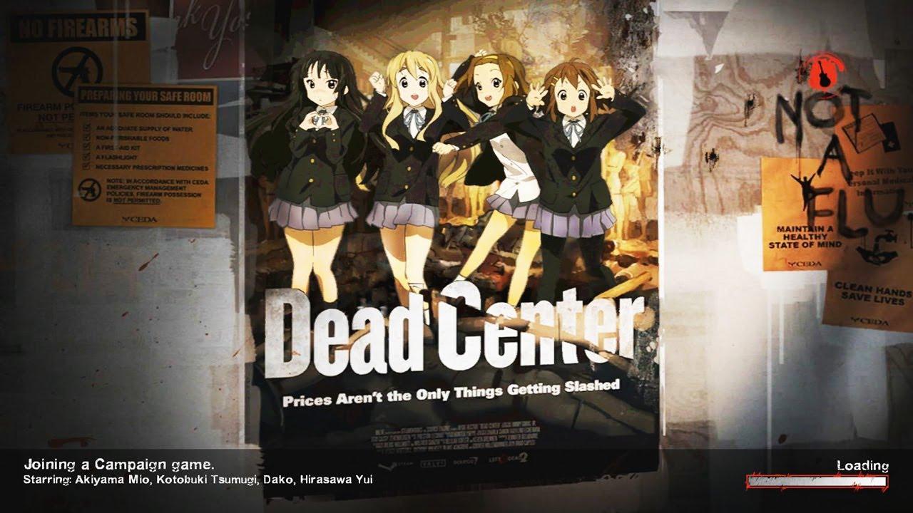 Left 4 Dead 2 K-ON! Mod: Dead Center (1/4) The Hotel