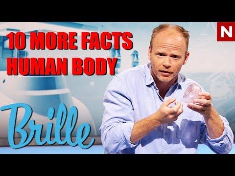 Brille | 10 mer fakta om menneskekroppen | TVNorge