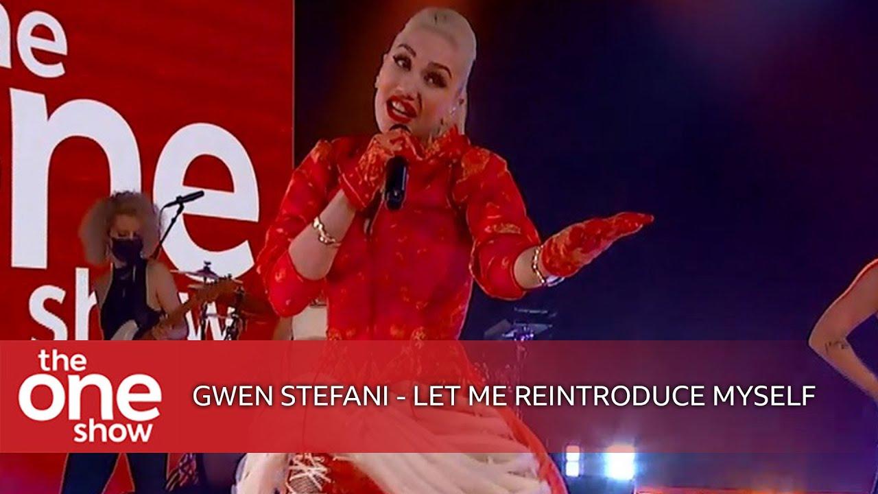 Gwen Stefani - Let Me Reintroduce Myself (The One Show)