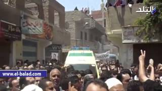 بالفيديو والصور.. والدة شهيد ميت غمر: يا حبيب مصر .. قدمت روحك عشان تعيش مصر