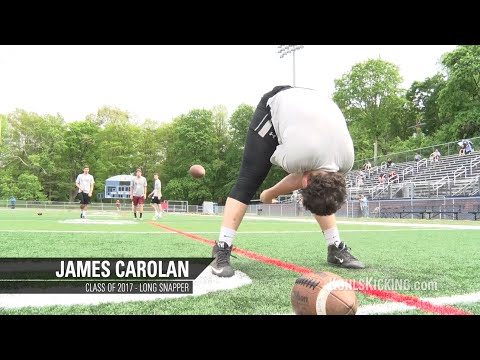 James Carolan | No.3 Ranked Long Snapper | Class of 2017