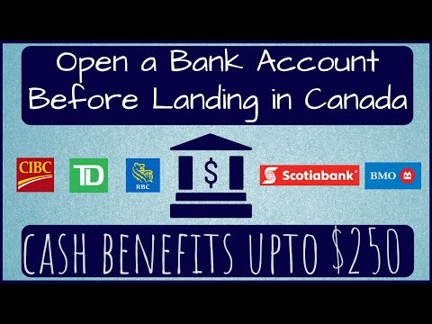🇨🇦🏦 Bank Account Before Landing In Canada