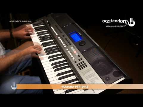 Yamaha PSR-E443 | Keyboard Sound & Styles
