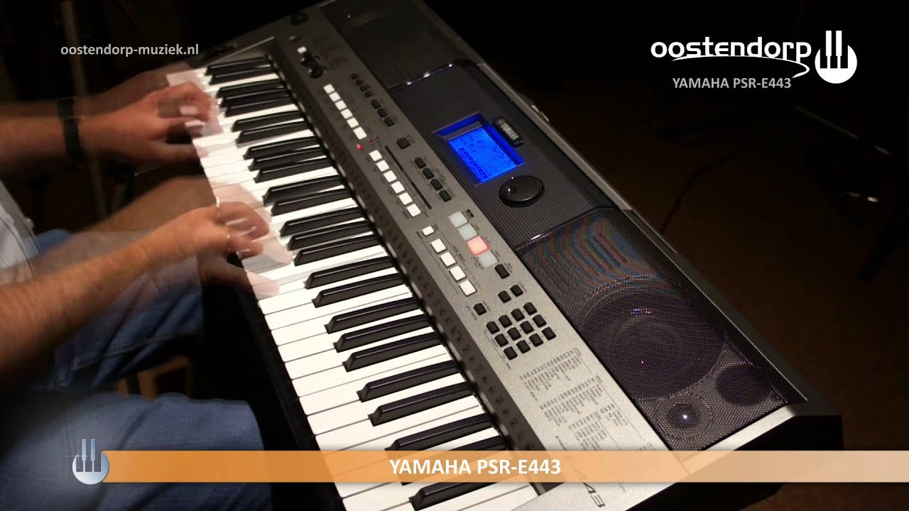 yamaha psr e443 keyboard sound styles youtube. Black Bedroom Furniture Sets. Home Design Ideas