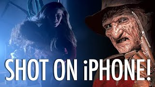 Re-shot on iPhone 11 Pro: Nightmare On Elm Street! Video