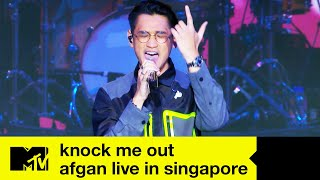 Afgan - 'Knock Me Out'   Live In Singapore   MTV Asia