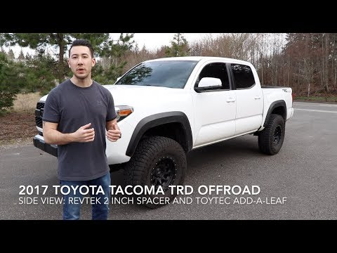 2016 2019 Toyota Tacoma Lets Talk About My Leveling Kit Wheels And