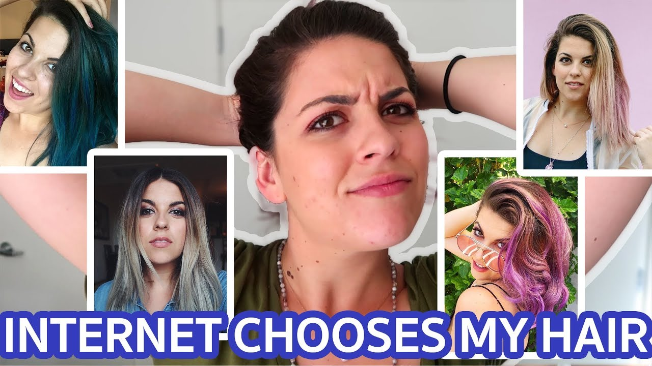 I Let The Internet Choose My Next Hairstyle - YouTube