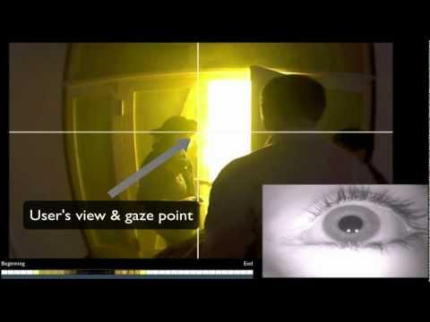 Eye tracking in the fog tunnel