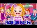 Baby Hazel Fashion Party Game Movie | Fun Game Videos By Baby Hazel Games