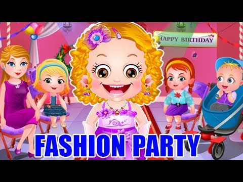 Baby Hazel Fashion Party Game Movie
