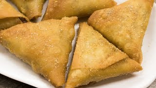 Irani Samosa Recipe | Crispy Hyderabadi Onion Vegetables Samosa | Easy Evening Snacks
