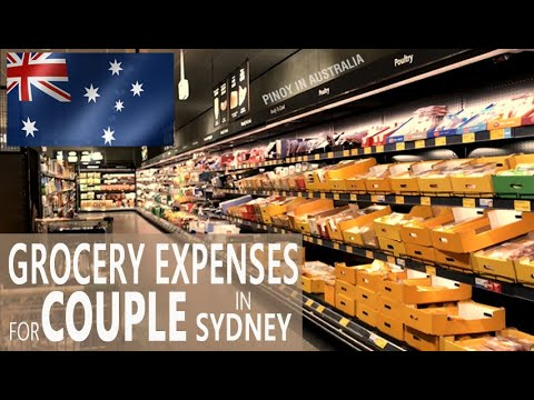 GROCERY EXPENSES FOR COUPLE IN SYDNEY: Filipino in Australia Cost of living 2021 at Aldi supermarket