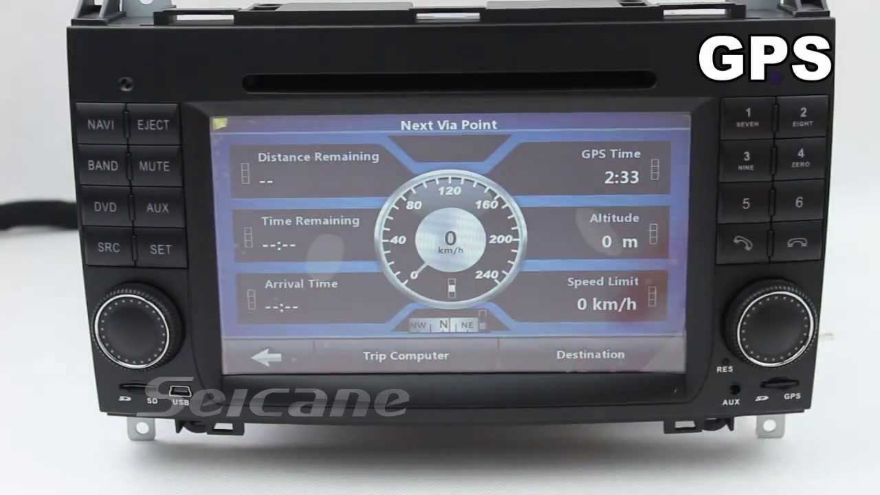 Mercedes benz w169 2004 2012 aftermarket radio upgrade for Mercedes benz stereo upgrade