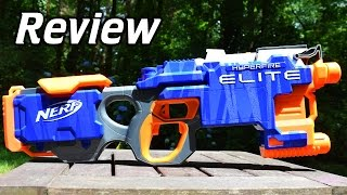 Review: Nerf Elite Hyperfire Unboxing and First Impressions