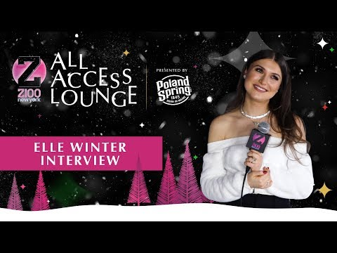 Z100's Jingle Ball - Elle Winter Reveals She Wants To Go On Tour In 2020