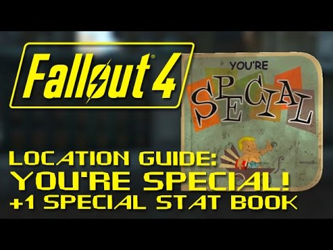 "FALLOUT 4: ""You're SPECIAL"" Magazine Guide +1 SPECIAL Stat - IMPORTANT for Build Planning!"