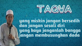 ''LAGU TAQWA '' Versi KH Anwar Zahid Dalam Ceramah Lucu , Gae Semangat Urep