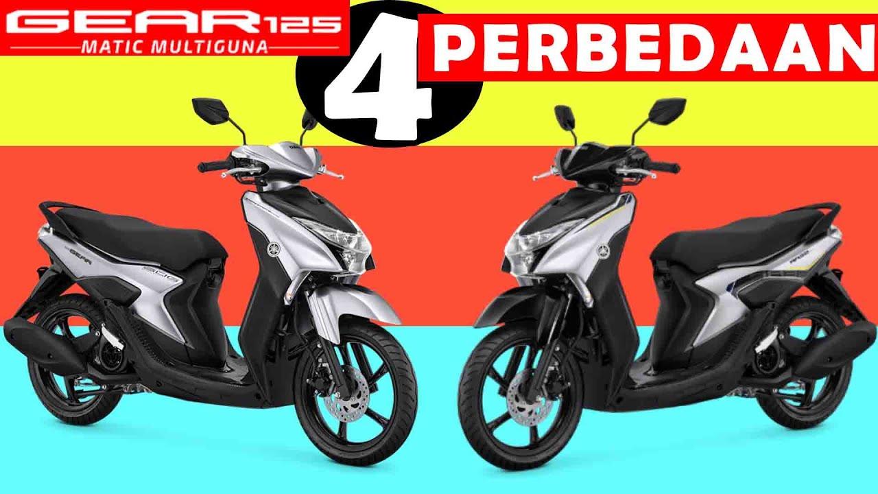 Sebelum Menyesal Beli 4 Perbedaan Yamaha Gear 125 Terbaru Tipe S Dan Standar Youtube