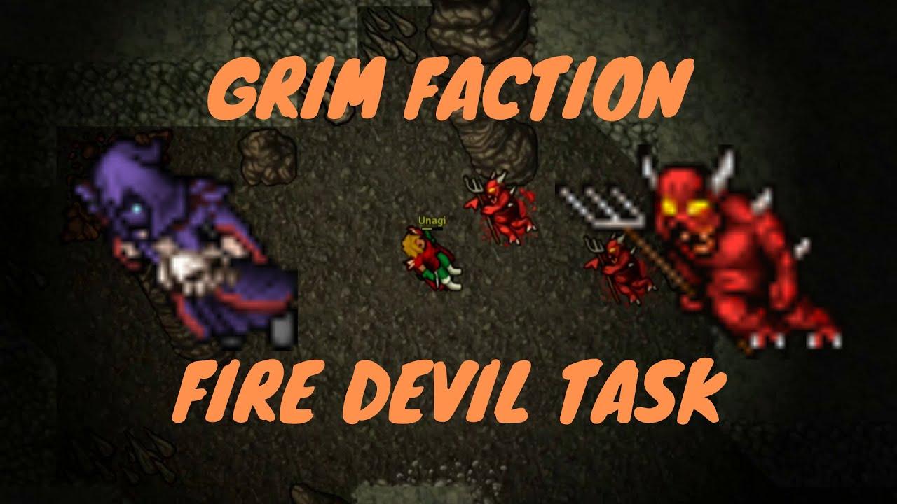 MEDIVIA - Grim Faction Fire Devils Task
