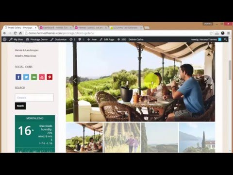 Create a New Hotel Website Using WordPress (2016)