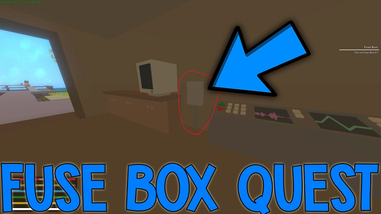 how to complete the fuse box quest unturned [ 1280 x 720 Pixel ]