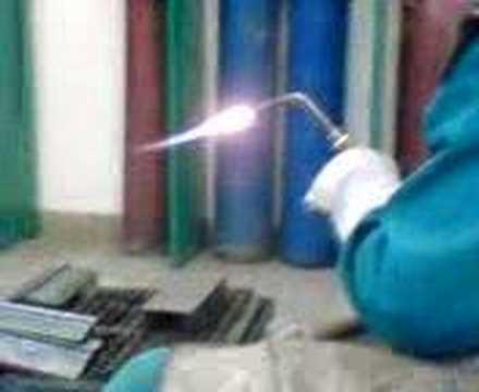 Jak zapálit autogen