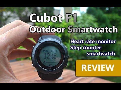 Cubot F1 Smartwatch Review - Sport Outdoor Smartwatch