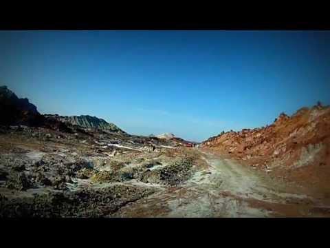 Hiking in Hormuz Island