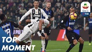 Mandžukić Header Gets Juve Ahead | Juventus 1-0 Inter | Top Moment | Serie A