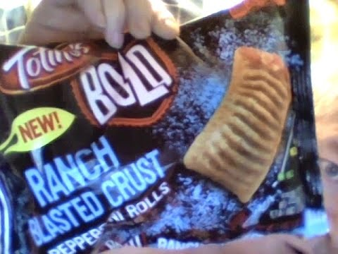 Totino's bold ranch blasted crust pepperoni rolls - YouTube