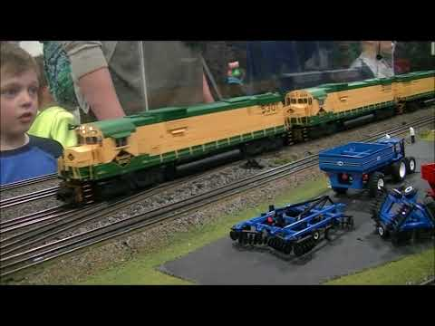 2018 World's Greatest Hobby   Independent Hi Railers O Scale PT1