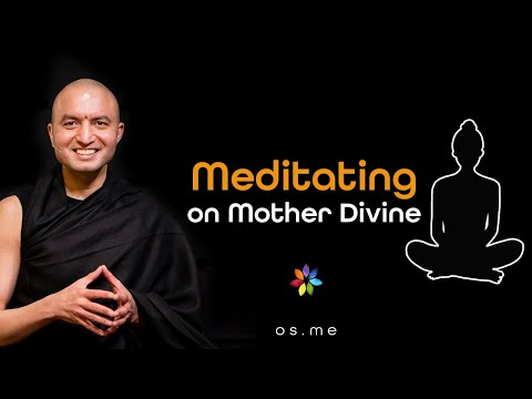 Meditating on The Divine Mother [Hindi]
