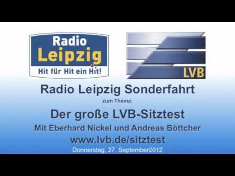 Die Radio Leipzig Sonderfahrt zum Thema Sitztest