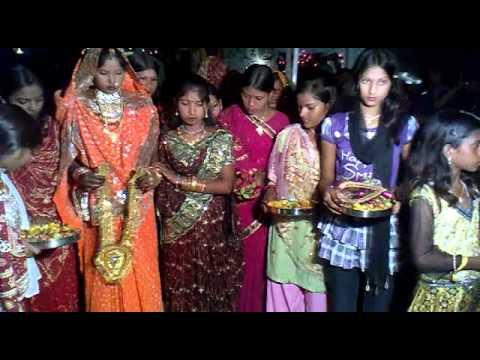 pappu ki sadee: video uploaded from my mobile phone