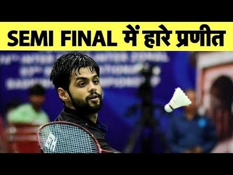 Praneeth settles for bronze after losing to Momota at BWF World Championship