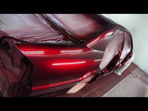 Возвращение легенды Toyota Chaser Candy Ultra Red