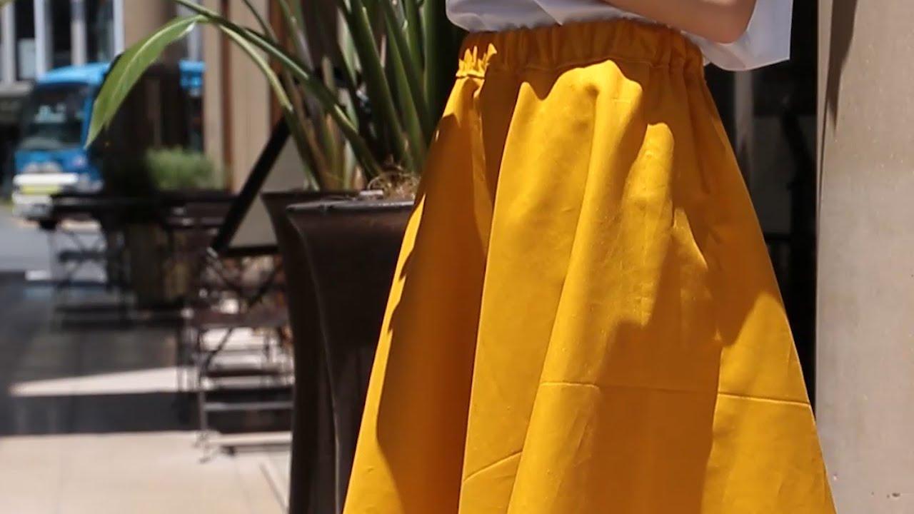 自分だけのスカートをDIY| C CHANNEL DIY - YouTube