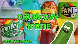 OKURKOVÝ SPRITE a další divné nápoje!