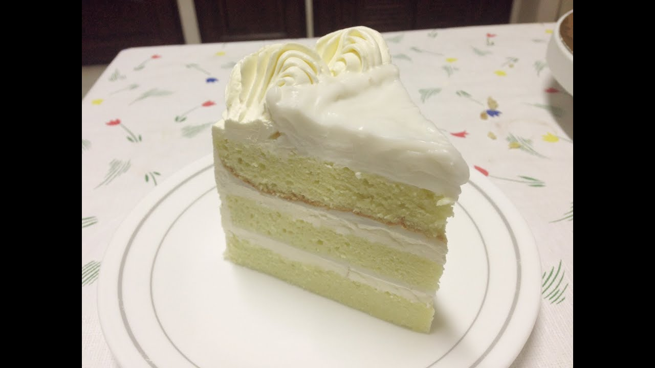 How To Make Mothers Day Cake Pandan Cake With Coconut Filling