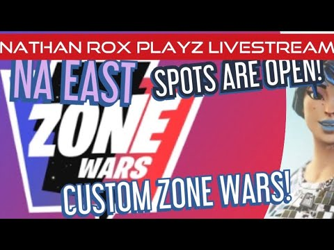 CUSTOM COMMUNITY ZONE WARS! SPOTS OPEN!|PS4 PRO | PLAYING WITH FANS | ROX CLAN