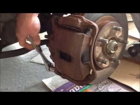 Changing warped rotors on 1998 Honda Accord