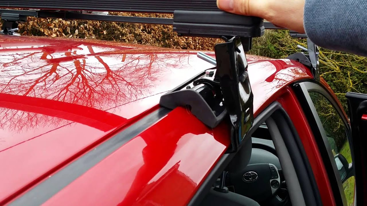 Summit Roof Bars On Gen 2 Prius