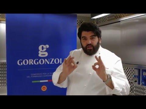 Cubo di tartare di carne con salsa al Gorgonzola – Le Ricette di A. Cannavacciuolo