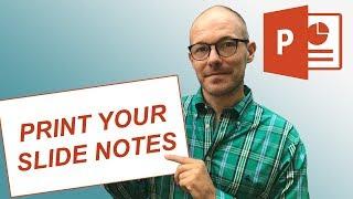 Comment Imprimer PowerPoint Avec Notes (Recommandations)