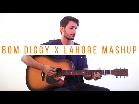 Bom Diggy Diggy | Lahore Mashup (Acoustic Guitar Version) Zack Knight, Guru Randhwawa