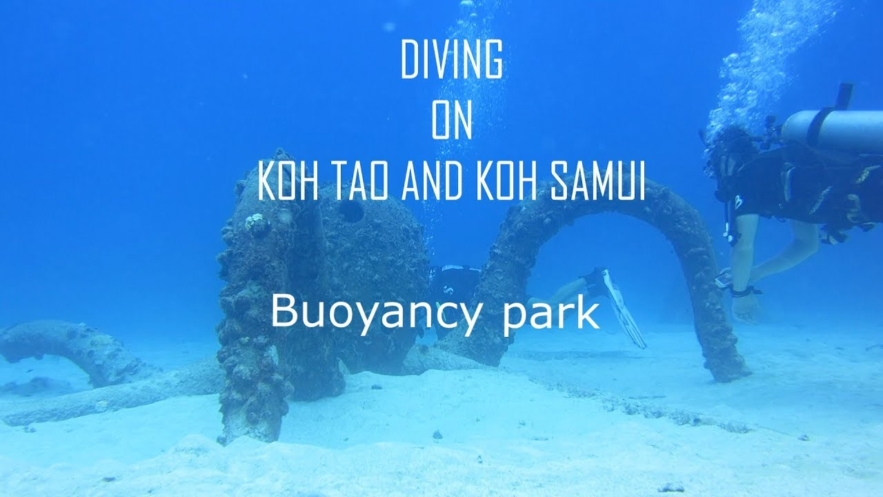 Diving on Samui - Buoyancy park