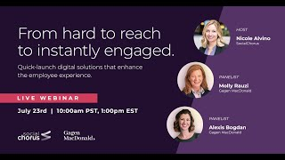 From Hard To Reach To Instantly Engaged Webinar Video July 2020
