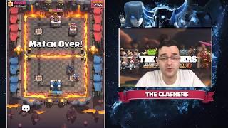 Clash Royale - Grand Challenge - Бързо ме наритаха
