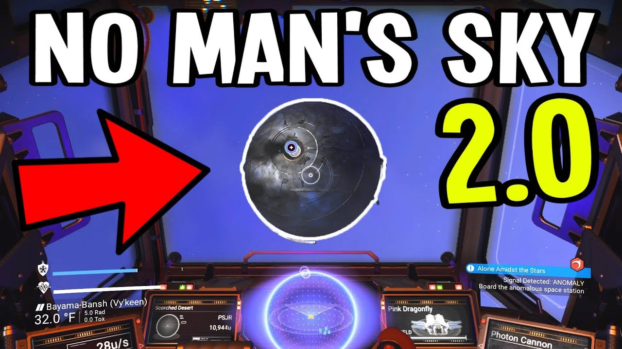 How to find the space station no mans sky